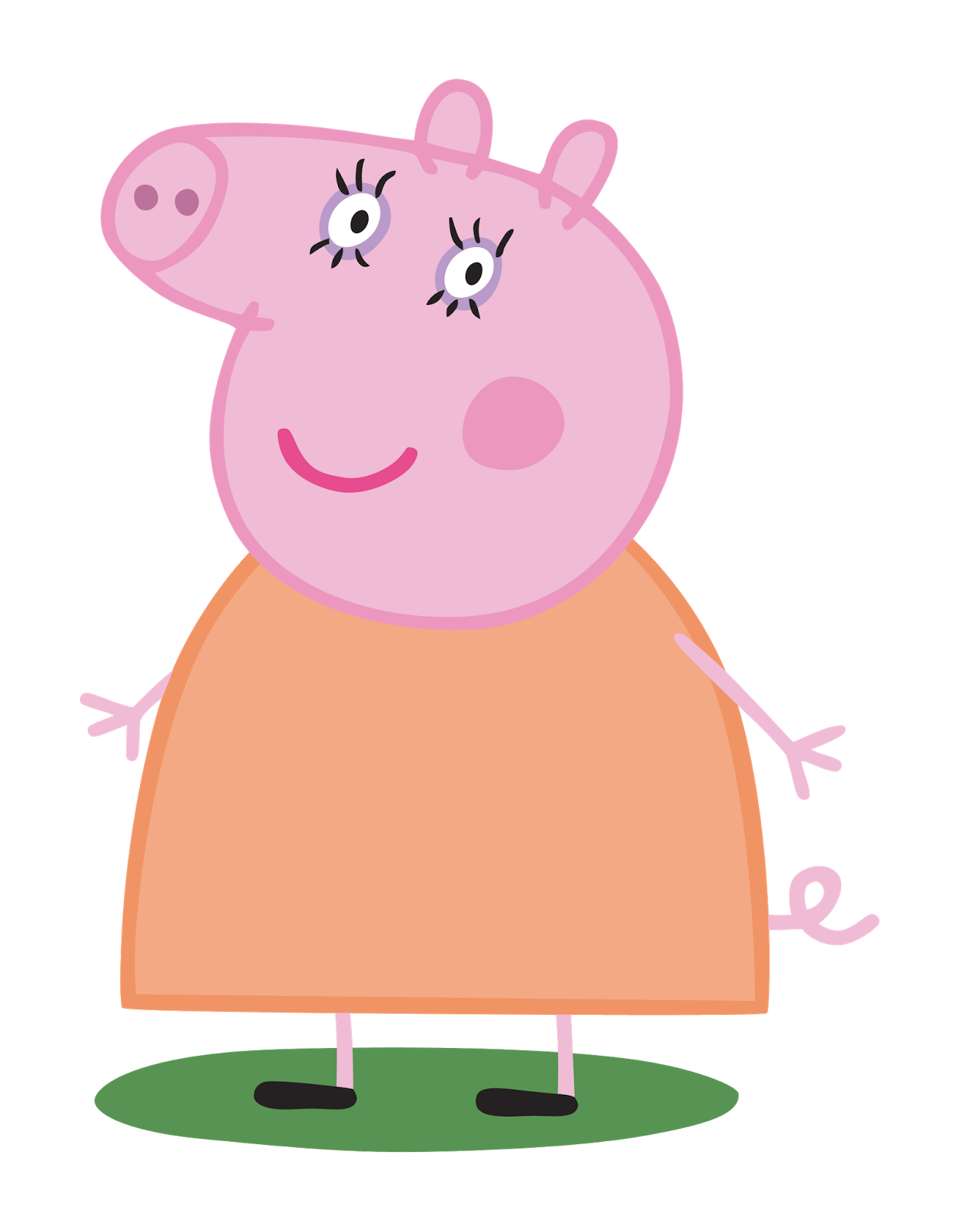 Cartoon Characters: Peppa Pig PNG (HQ).