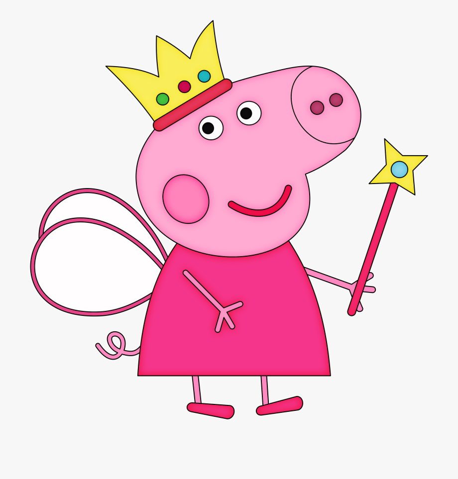 Family Clipart Pig.