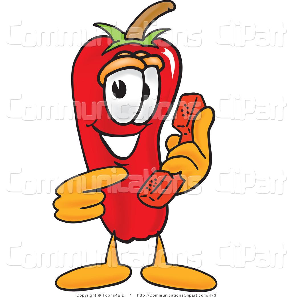 Cartoon Pepper Clipart.