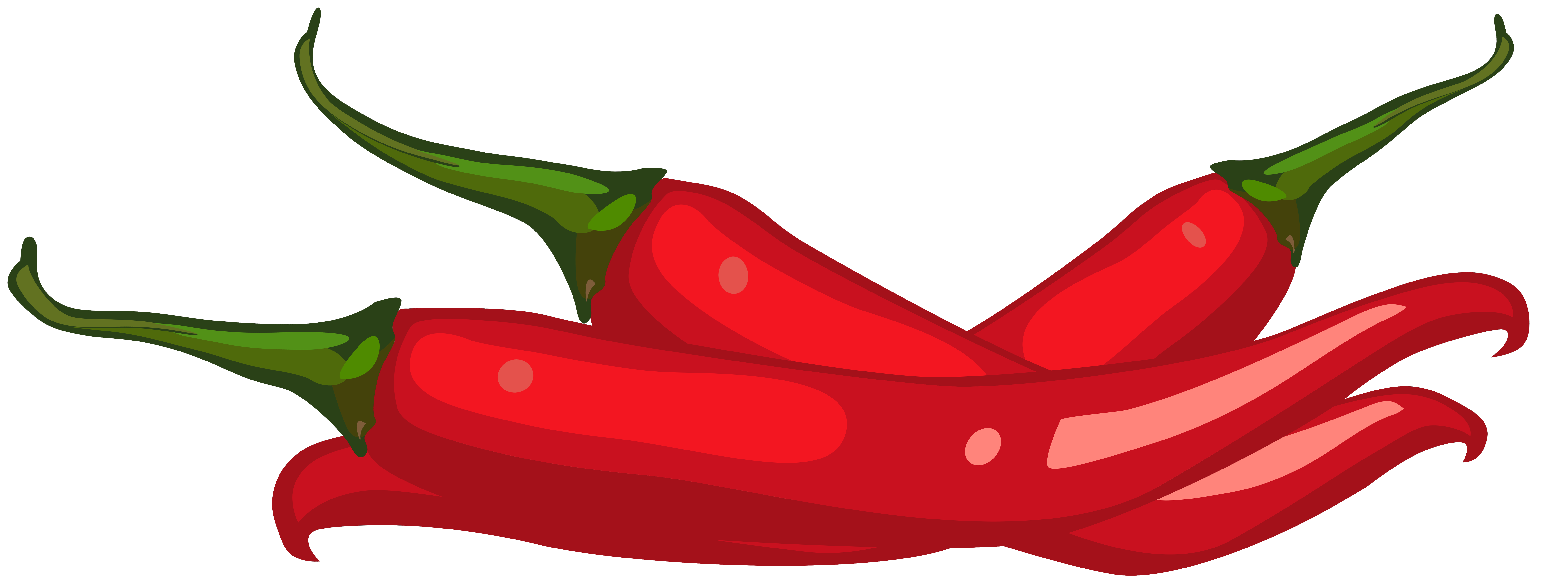 Red Peppers PNG Clip Art.
