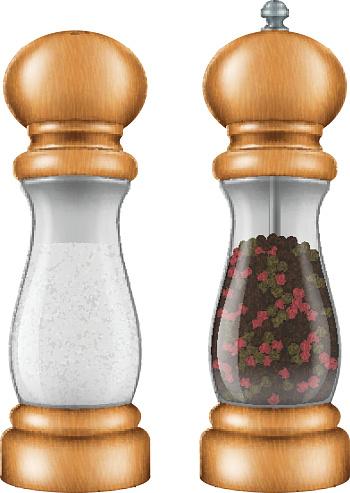Pepper Grinder Clip Art, Vector Images & Illustrations.