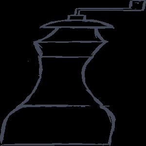 Pepper mill Clipart, vector clip art online, royalty free design.