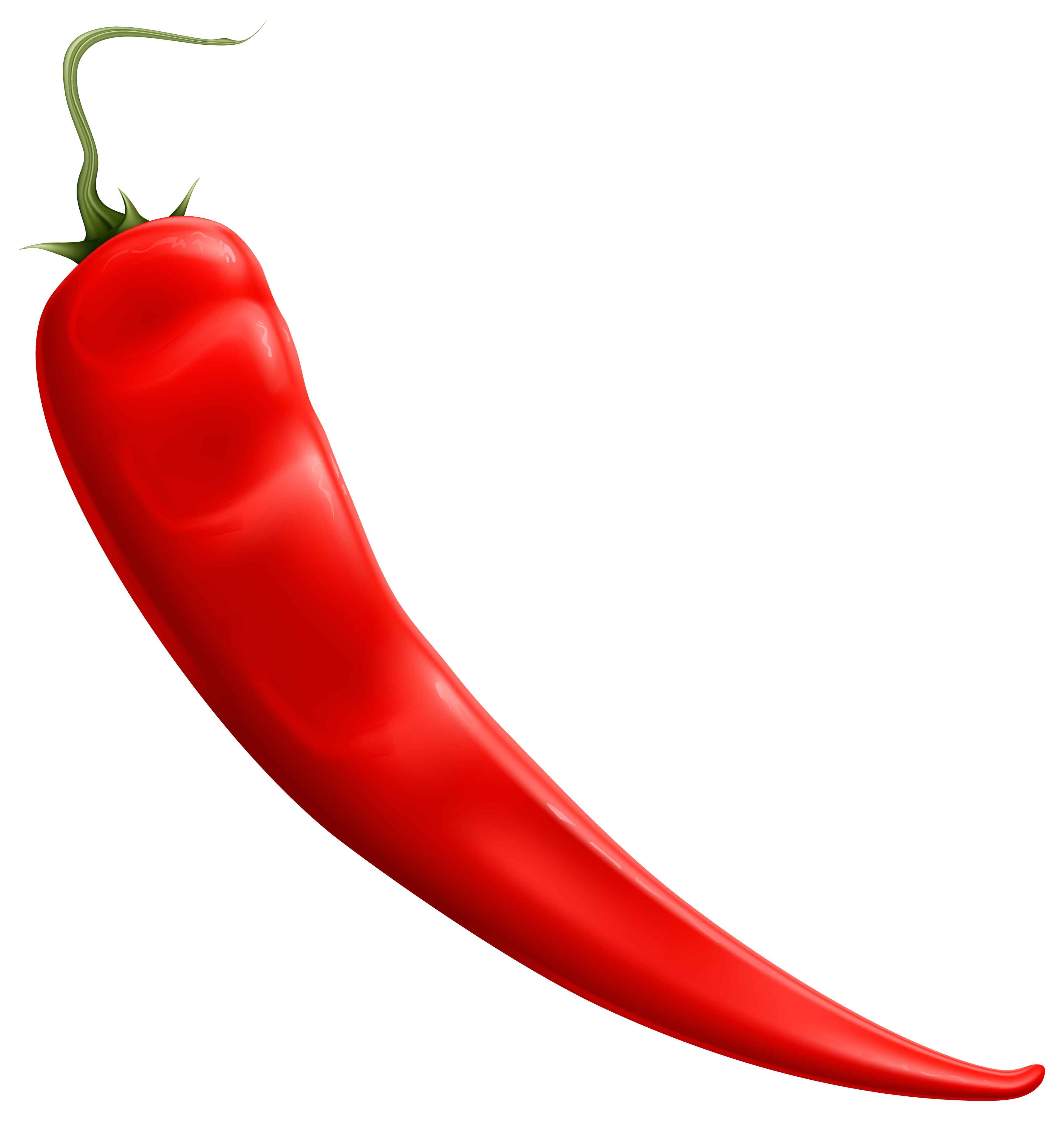 Red Chili Pepper PNG Clipart.