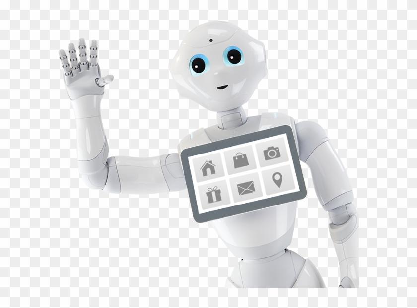 Pepper Robot Png.