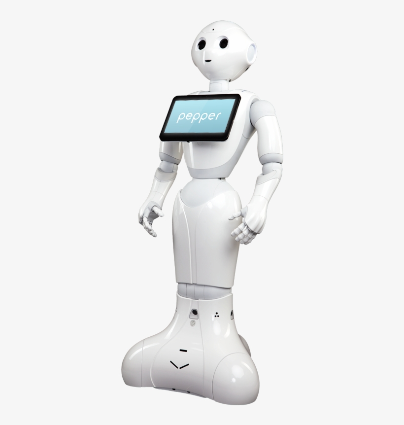 Header Pepper Robot.