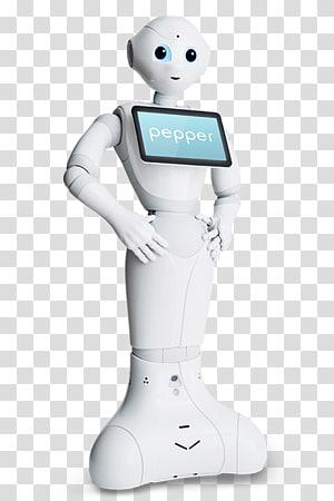 Pepper Humanoid robot Technology Nao, pepper transparent.