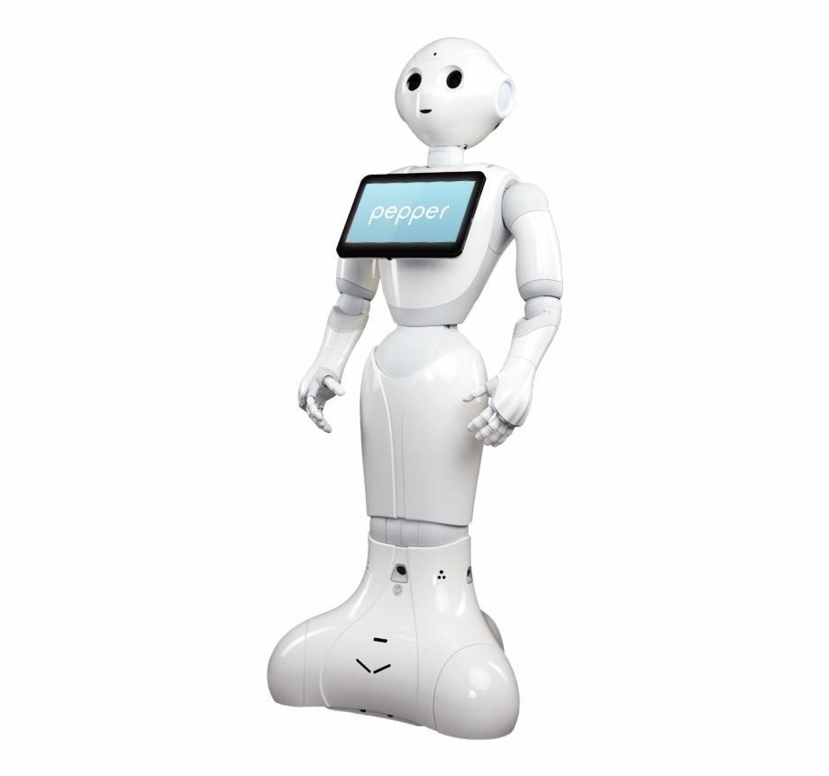 Header Pepper Robot.
