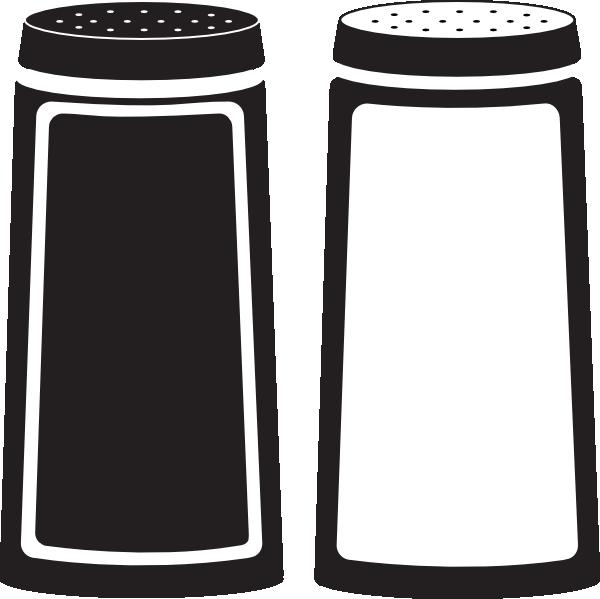 Salt and pepper shaker clipart free.