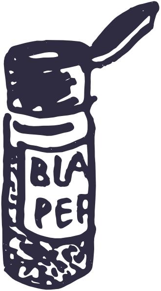 Black Pepper Shaker Clip Art at Clker.com.