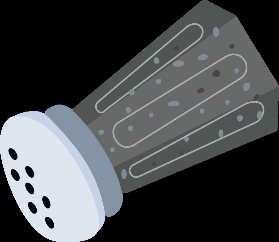 Pepper Shaker Clipart.