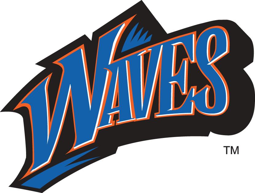 Pepperdine Waves Wordmark Logo.