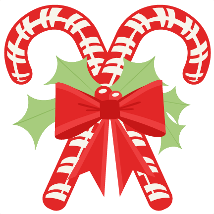 Candy cane clipart transparent background.