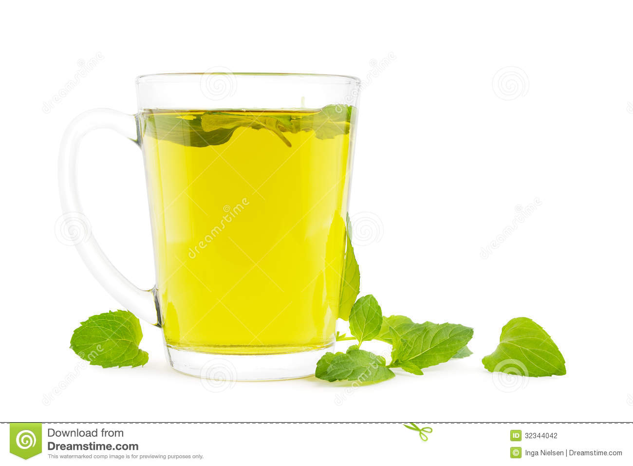 Mint Tea Stock Photography.