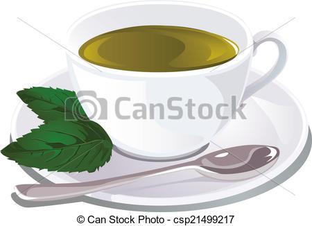 Mint tea Clipart and Stock Illustrations. 1,469 Mint tea vector.