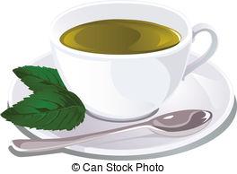 Mint tea Clipart and Stock Illustrations. 1,548 Mint tea vector.