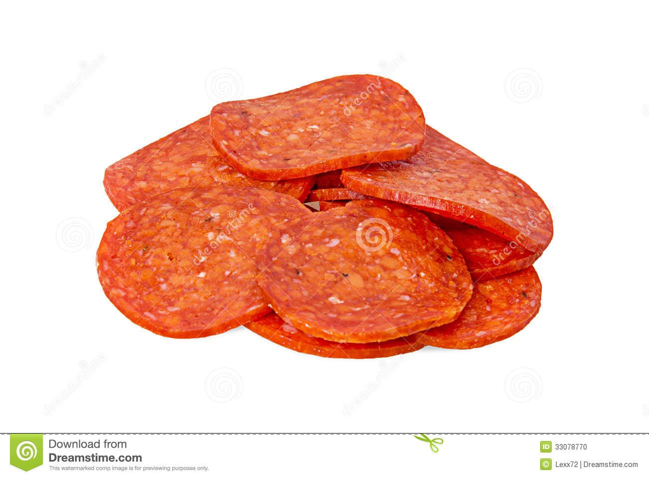 Clipart pepperoni.