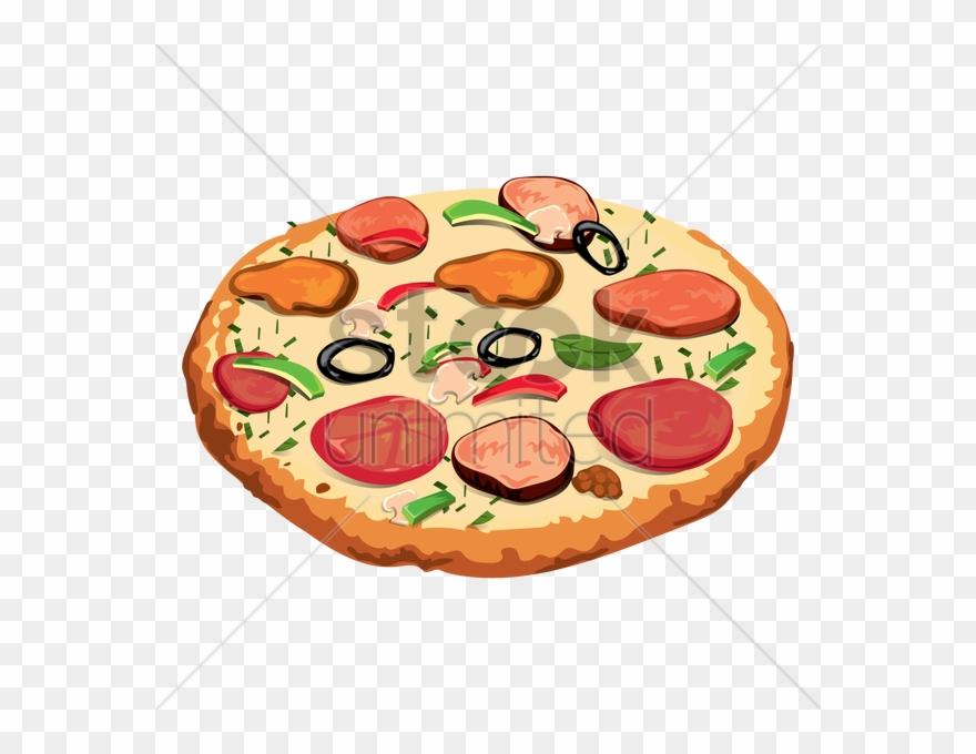 Pizza Clipart Pizza Salami Pepperoni.