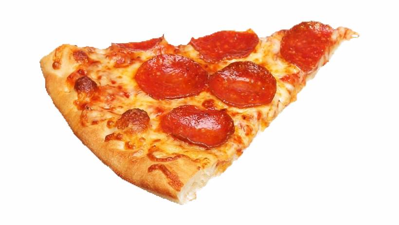 Pizza Slice Transparent Image.