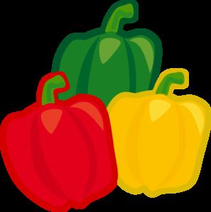 Bell Pepper Mix Clip Art at Clker.com.