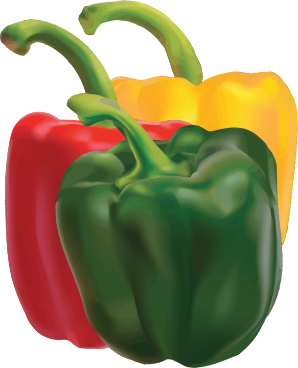 Bell Pepper,Natural Foods,Peperoncini Clipart.