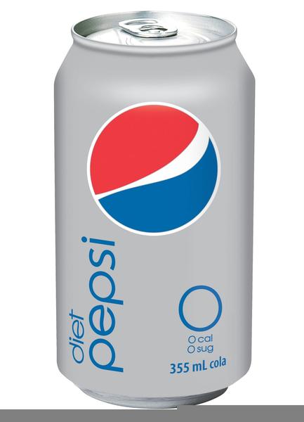 Diet Pepsi Clipart.