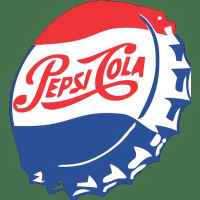 Vintage Pepsi Cap Clipart transparent PNG.
