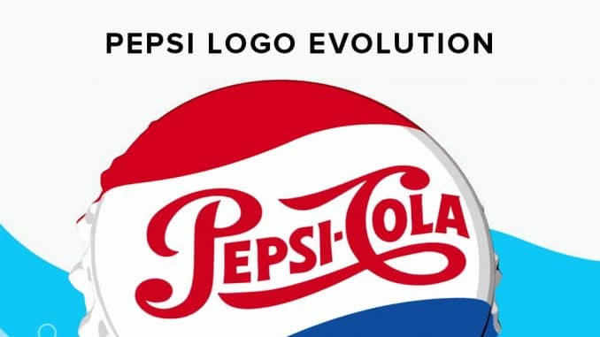 The history of Pepsi and their logo design.