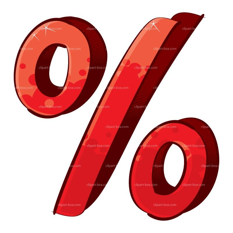 Percent Clip Art.