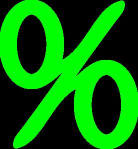 Green Percent Clip Art at Clker.com.
