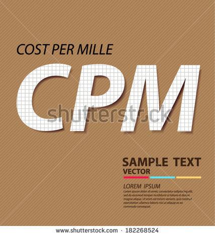 Cpm Stock Vectors & Vector Clip Art.