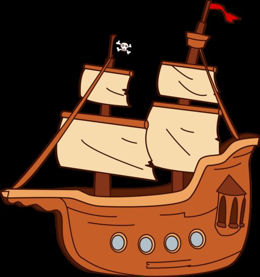 Pirate Ship Design.