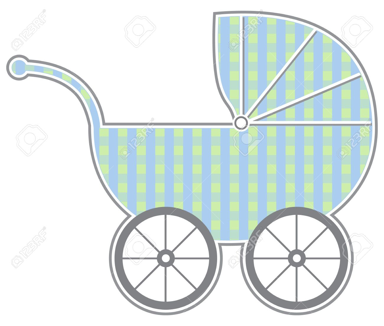 Baby Carriage Royalty Free Cliparts, Vectors, And Stock.