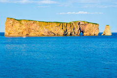 Rocher Perce, Quebec Royalty Free Stock Image.