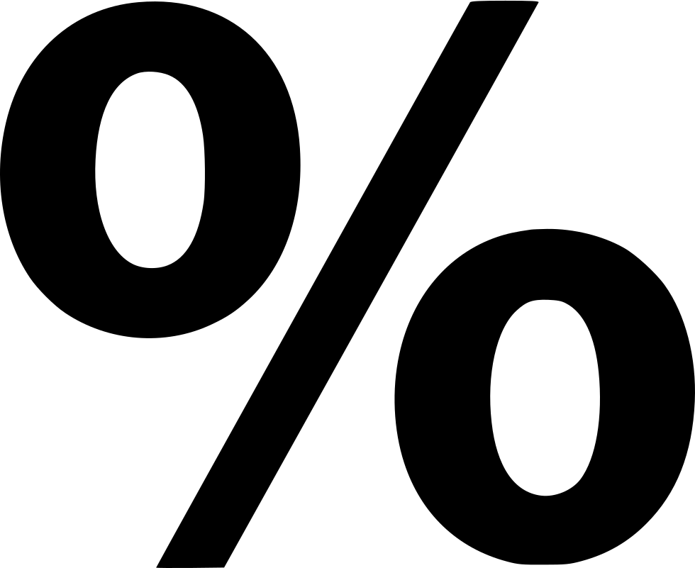 Percent Percentage Discount Savings Svg Png Icon Free.