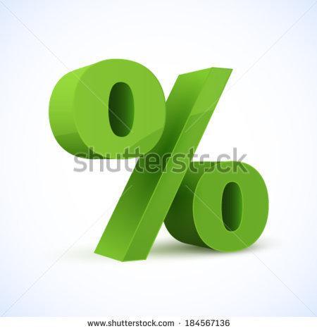 Percentage Sign Stock Photos, Royalty.