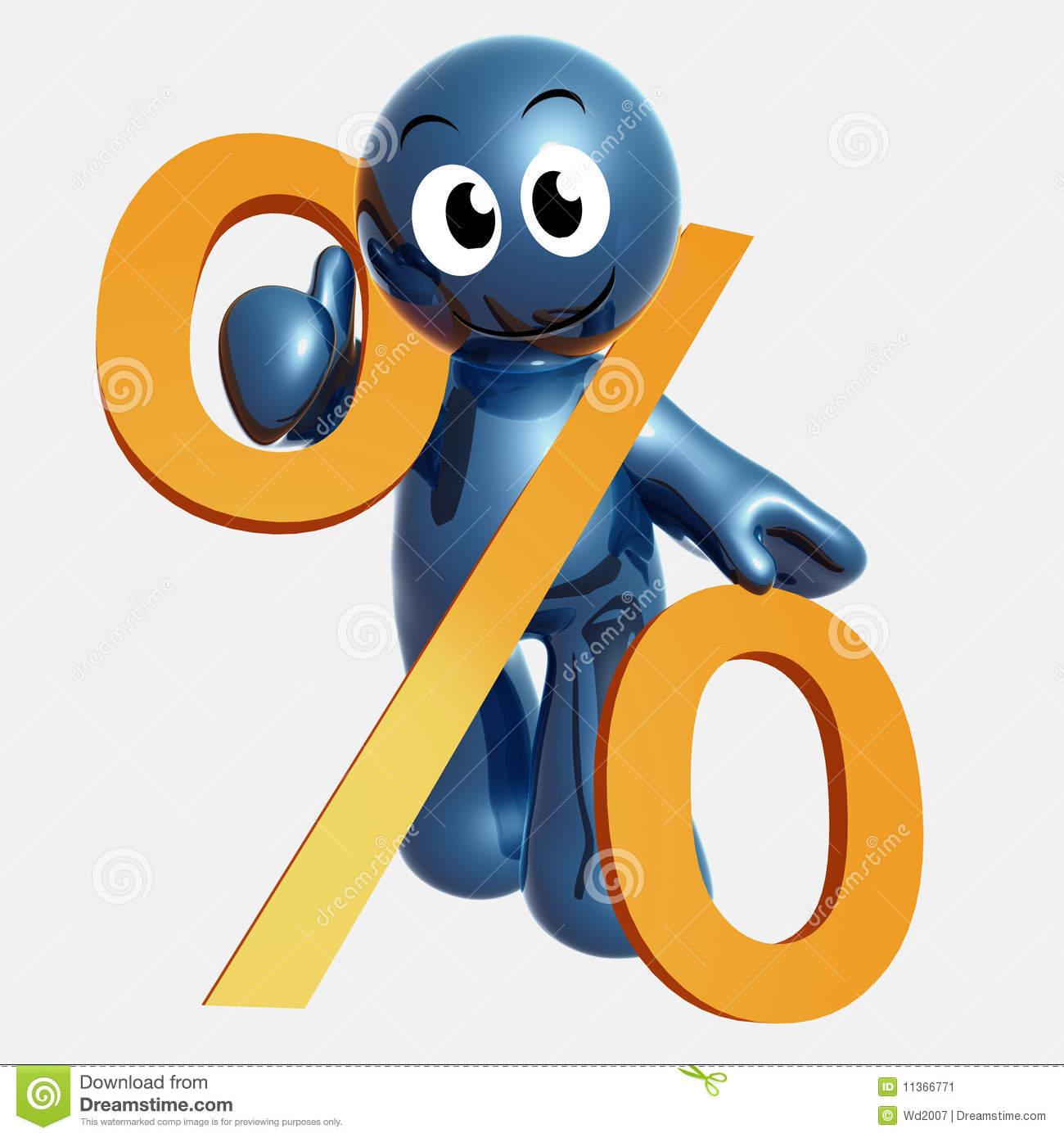 Percentage Clip Art.