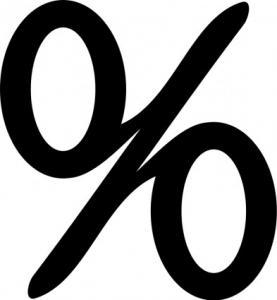 Percentage Sign Clip Art Download.