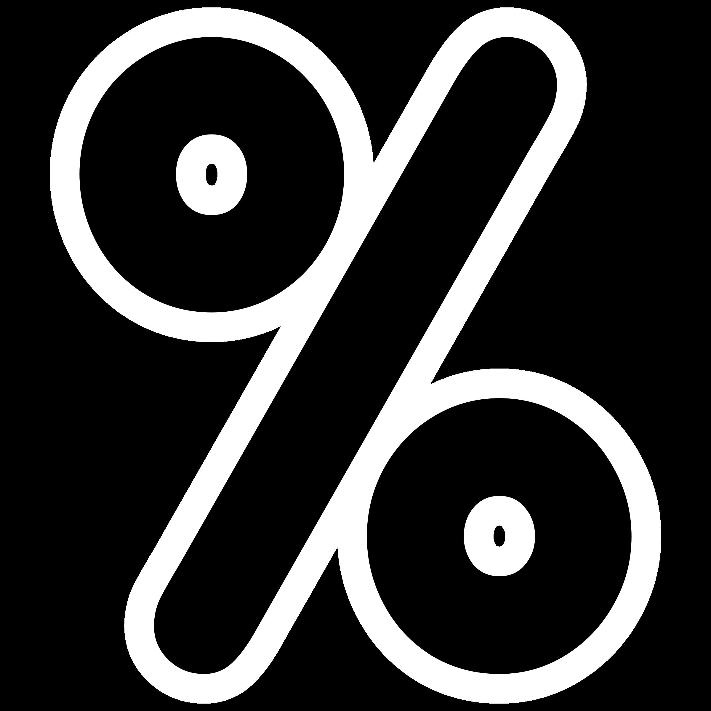 Percentage PNG Transparent Images.