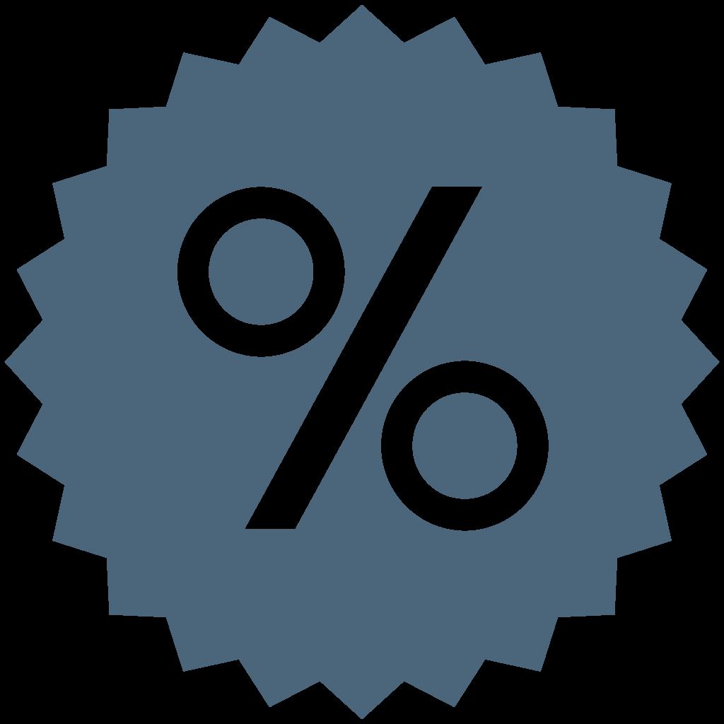 Percentage PNG Images Transparent Free Download.