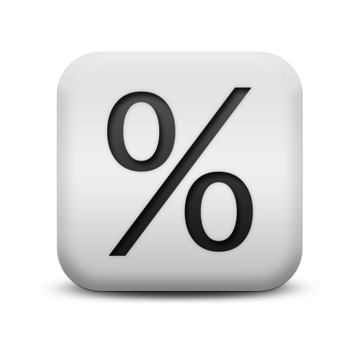 Percentage Clip Art.