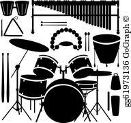 Percussion Clip Art.