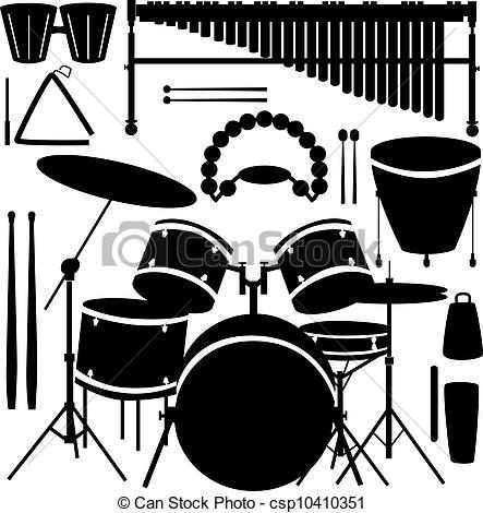 Percussion Clipart.