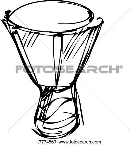 Clipart of percussion instruments orchestra timpani k7774871.