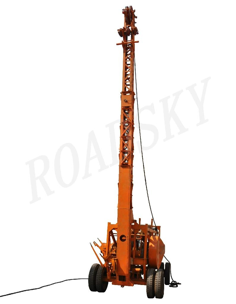Percussion Drilling Rig.