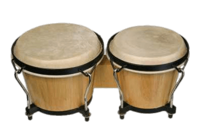 Bongo Drums transparent PNG.