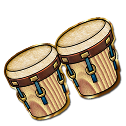 Percussion Ensemble Clip Art.