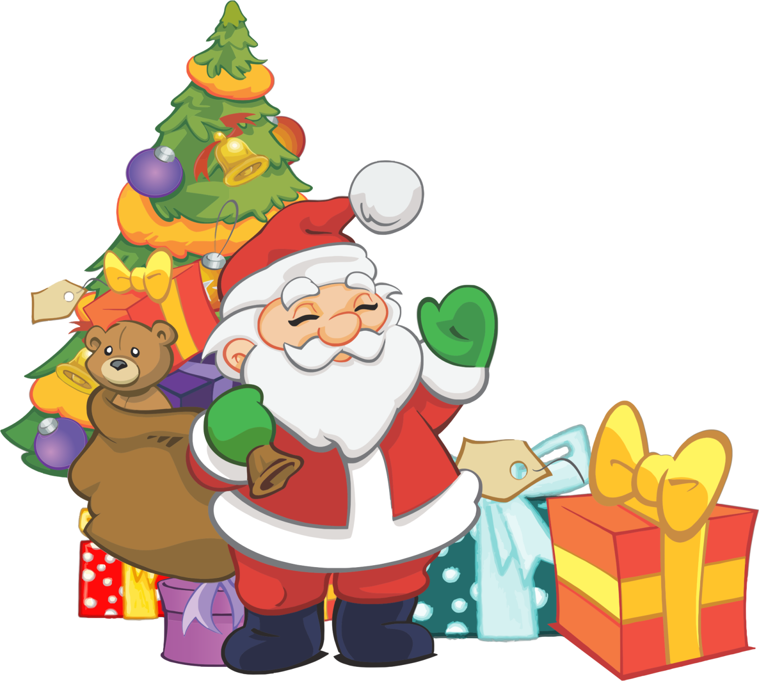 Pere noel clipart 7 » Clipart Station.