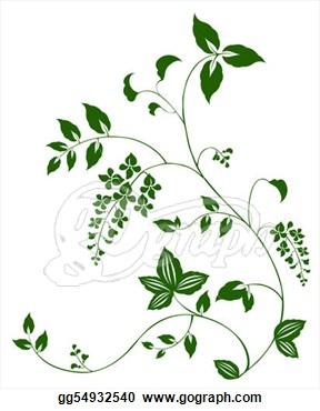 hop vine design.
