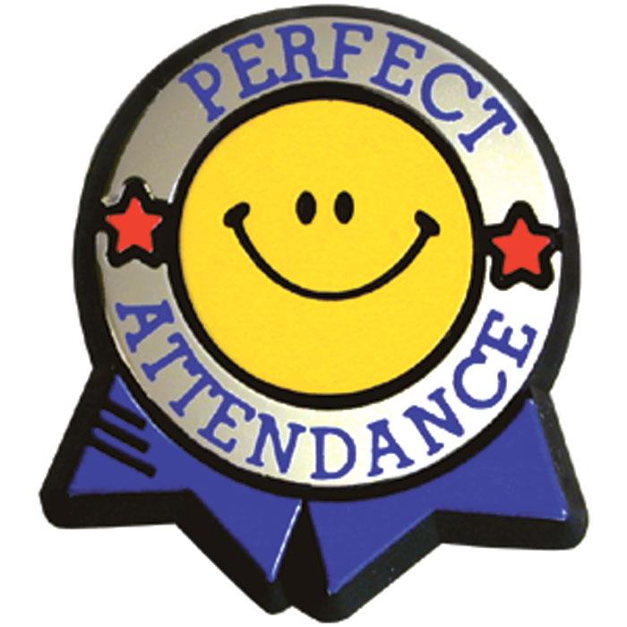 Perfect attendance clip art 2.