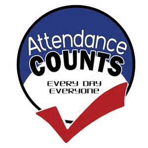 Perfect attendance clip art.